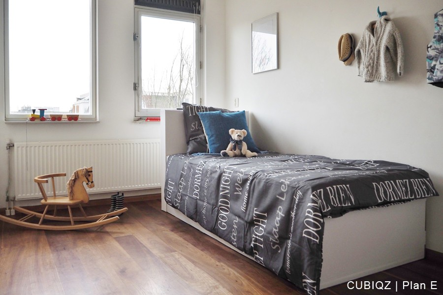 14. HomeStaging con mobili in cartone cubiqz per camera da lettoHome staging with CUBIQZ cardboard bed