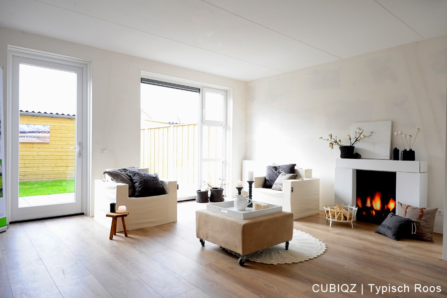 22. home Staging with CUBIQZ cardboard furniture