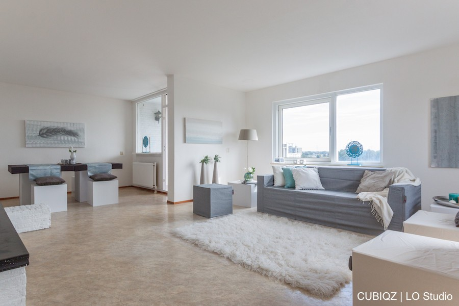 29. home Staging with CUBIQZ cardboard furniture