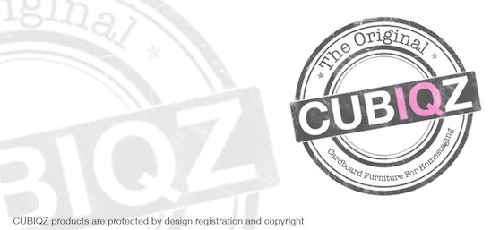 CUBIQZ PRODUCTS ARE PROTECTED BY DESIGN REGISTRATION® AND COPYRIGHT©