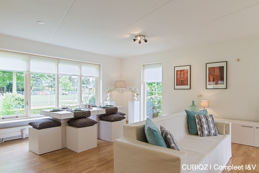 30. home Staging with CUBIQZ cardboard furniture