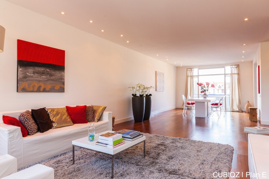 23 home Staging with CUBIQZ cardboard furniture