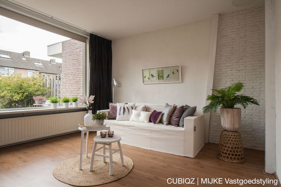 28 home Staging with CUBIQZ cardboard furniture