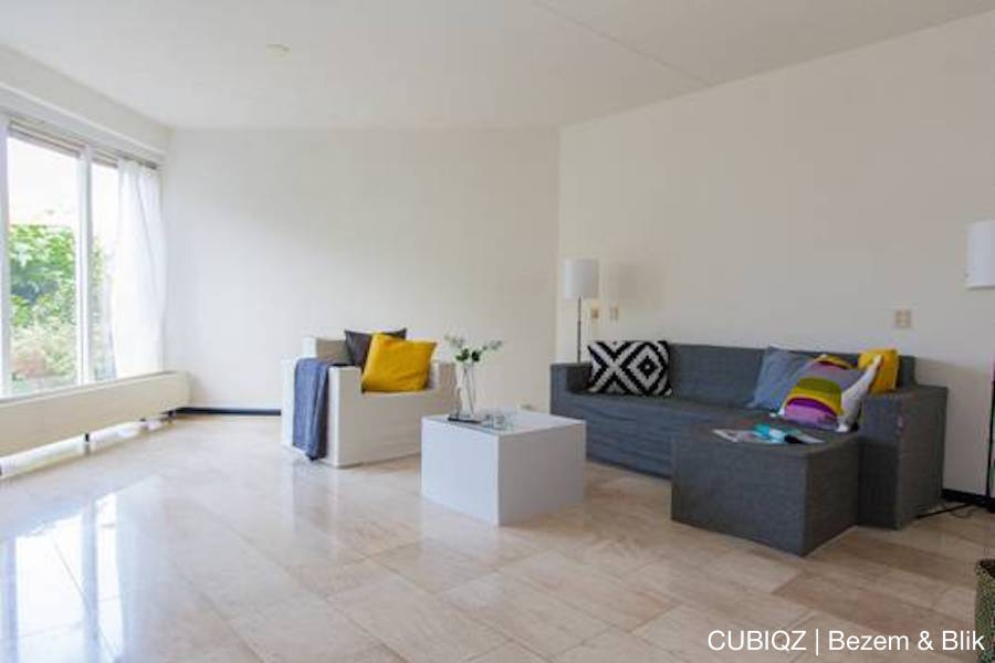 27. home Staging with CUBIQZ cardboard furniture