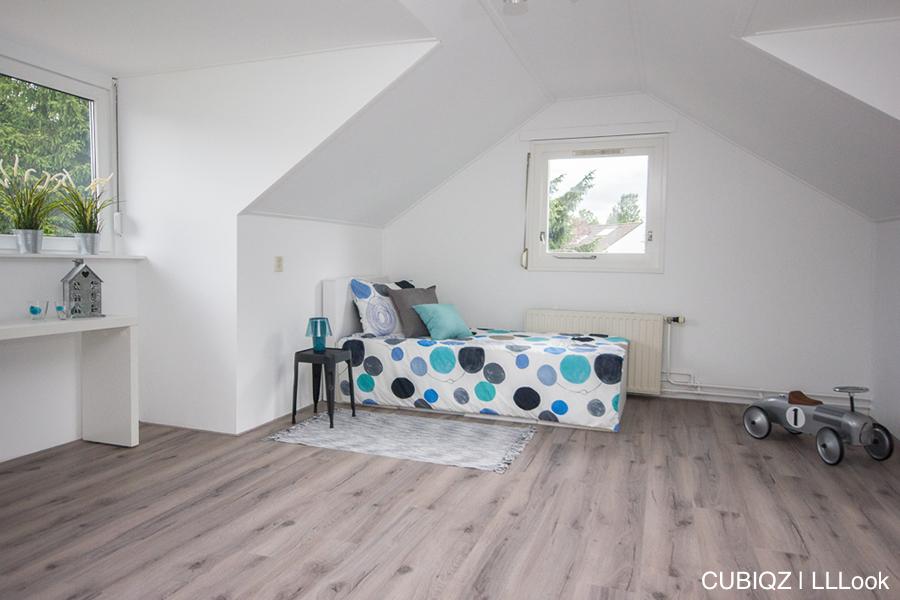 18. HomeStaging con mobili in cartone cubiqz per camera da lettoHome staging with CUBIQZ cardboard bed