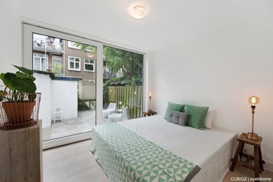 2. HomeStaging con mobili in cartone cubiqz per camera da letto