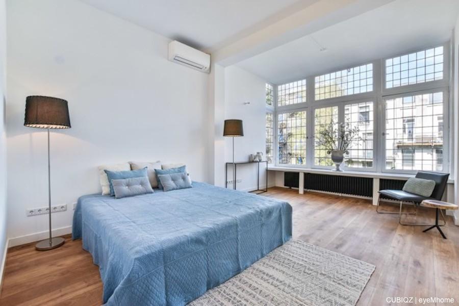 3. HomeStaging con mobili in cartone cubiqz per camera da letto