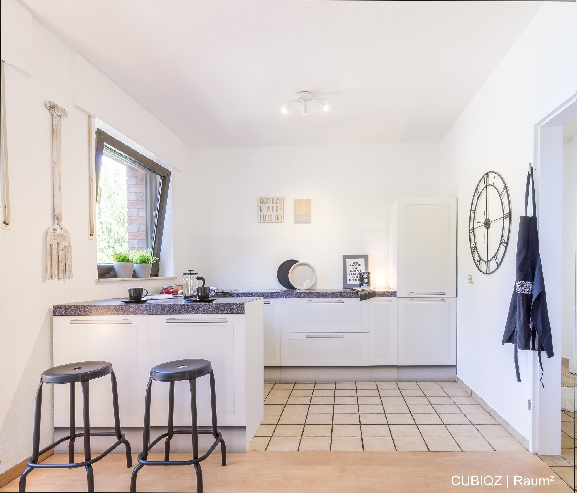 HomeStaging con cucine in cartone cubiqz 1B