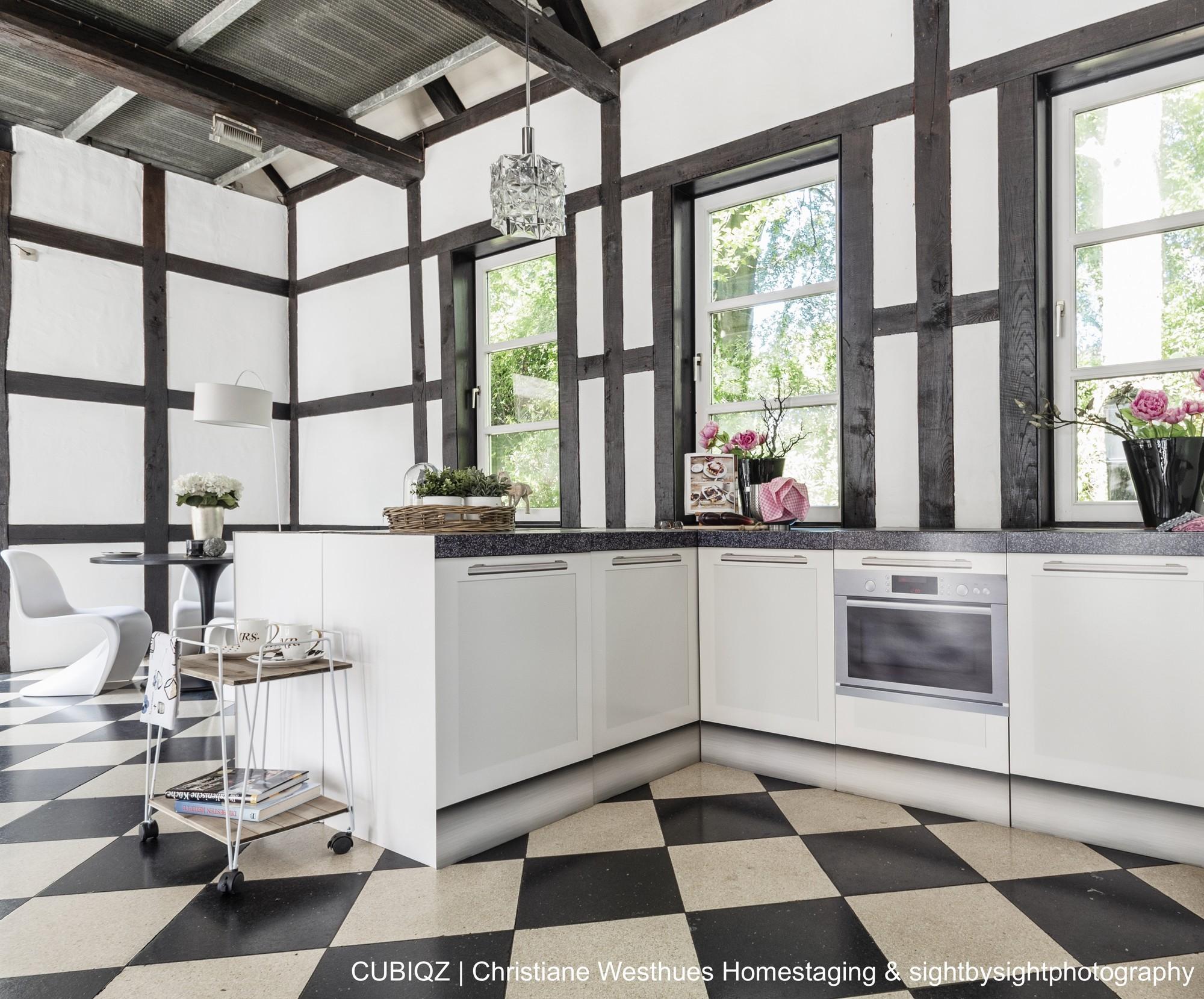HomeStaging con cucine in cartone cubiqz 8