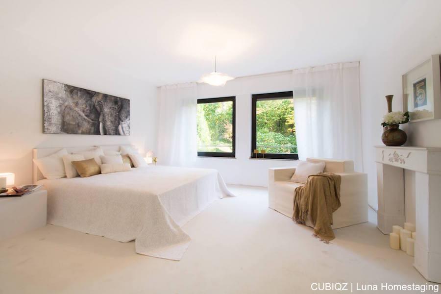 10. HomeStaging con mobili in cartone cubiqz per camera da lettoHome staging with CUBIQZ cardboard bed