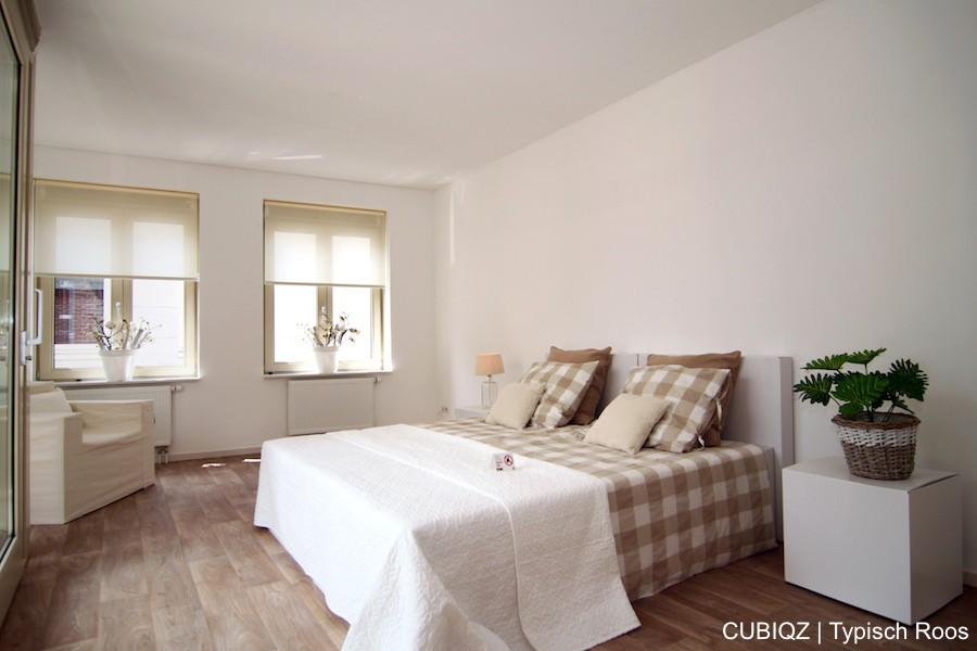 5. HomeStaging con mobili in cartone cubiqz per camera da letto