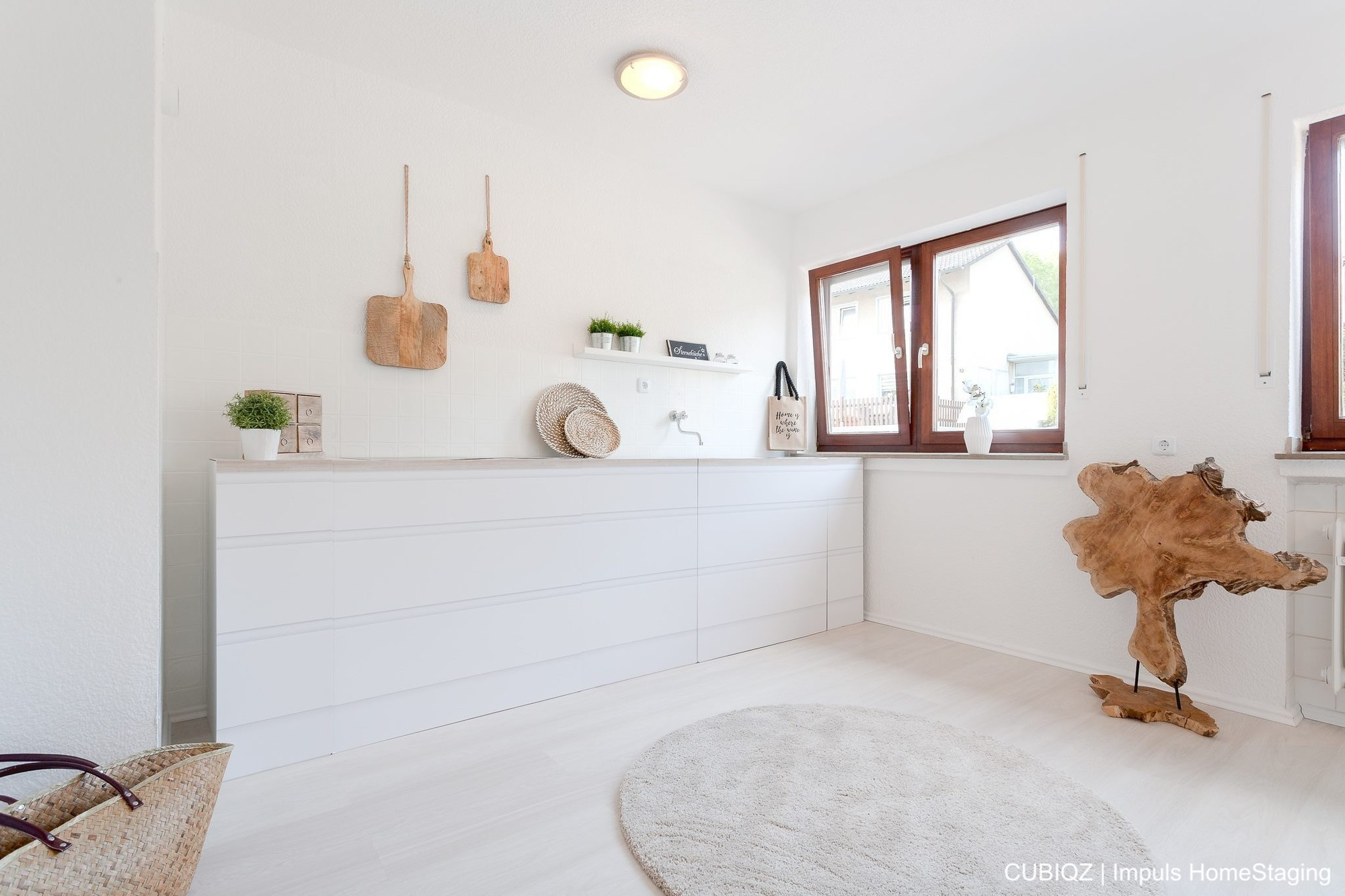 HomeStaging con cucine in cartone cubiqz 1a