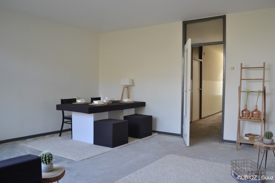 12home Staging with CUBIQZ cardboard furniture