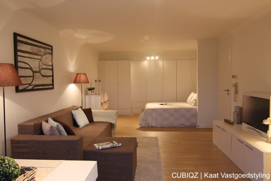 16 home Staging with CUBIQZ cardboard furniture