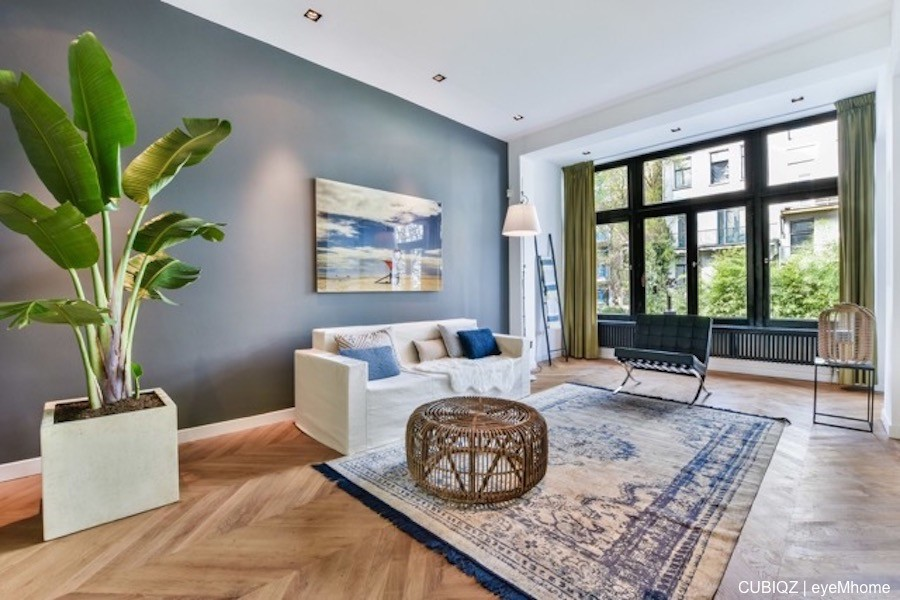 1. Home Staging with CUBIQZ cardboard furniture